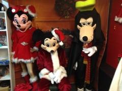 MICKEY MINNIE GOOFY CHRISTMAS