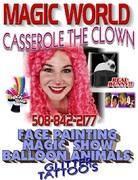 CASSAROL THE CLOWN