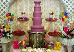 EASTER CHOCOLATE FOUNTAIN