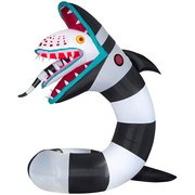 9.5 ft. Pre-Lit Inflatable Animated Beetlejuice Sandworm WB Airblown