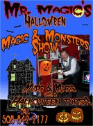 Mr. Magic's Magic and Monsters Halloween show.