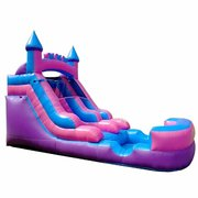 12 FT PINK PURPLE TODDLER SLIDE