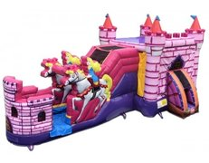 PRINCESS KINGDOM COMBO WITH WATER SLIDE