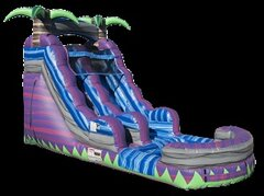 1-PURPLE PARADISE WATER SLIDE