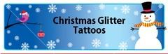 11. HOLIDAY GLITTER TATTOOS