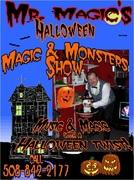 Mr. magic halloween Magic show