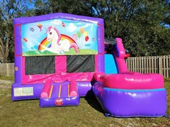 UNICORN PINK 7&1 COMBO WITH WATER SLIDE