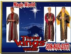THREE WISE MAN KINGS