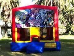 5. Monster high bounce