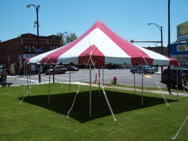 20x20 TENT TABLE CHAIR SPECIALS