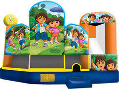 5 in 1 Dora and Diego Dry