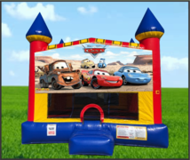 Cars Large 15x15 Castle Bouncer