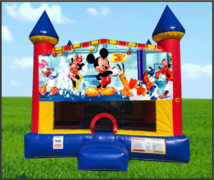 Micky Mouse Large 15 x 15 Castle Bounce