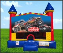 Monster Truck Large 15 x 15 Castle Bouncer