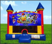 Pokemon Large 15 x 15 Castle Bouncer
