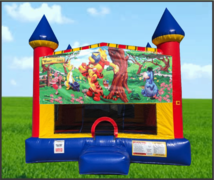Winnie The Pool Large 15 x 15 Castle Bouncer