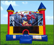 Spider-Man Large 15 x 15 Castle Bouncer