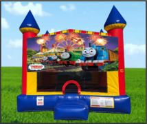 Thomas The Train Large 15 x 15 Castle Bouncer