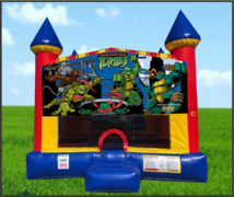 TMNT Large 15 x 15 Castle Bouncer
