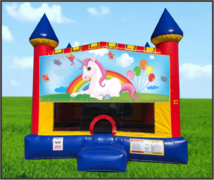 Unicorn 15 x 15 Castle Bouncer