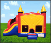 Combo Slide 5 in 1 Castle Bouncer