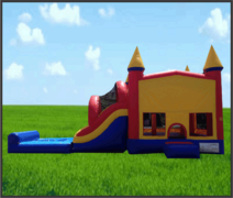 Combo Water Slide 5 in 1 Castle
