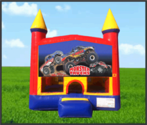 Monster Truck Castle Bouncer