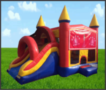 Princess 5 in 1 Castle Combo w/Slide
