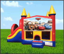 Cars Castle Combo Slide 5in1