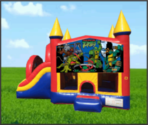 TMNT Combo Slide 5in1 Bouncer