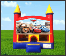 Cars 13x13 Castle Bouncer