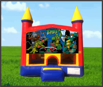 Ninja Turtles Castle Bouncer