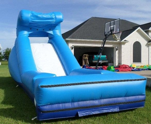 Blue Wave Water Slide