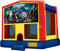 Avengers Primary Color Bouncer