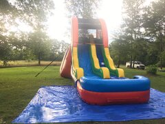 17' Round Oak Rapid water slide
