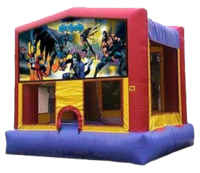 Midstate Jumpers Batman Bounce House Rental