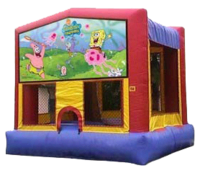 Spongebob Squarepants Bounce House Rental La Pine Oregon