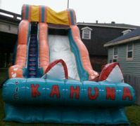 19FT Big Kahuna Waterslide
