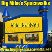 Extra Large Yellow & Blue Spacewalk with basketball goal