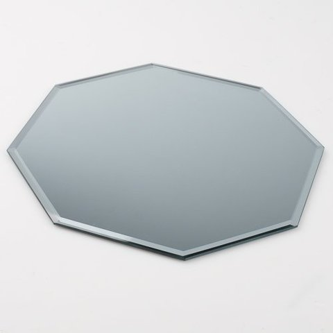 Octagon mirror for centerpiece