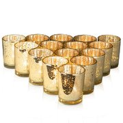 Glass Votives with tealight- Different colors