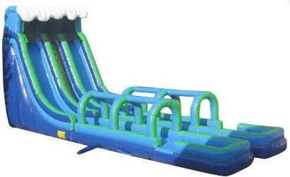 24' Double Lane Water Slide 'Geronimo'