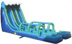 24' Double Lane wet/dry Slide aka Geronimo