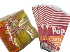Popcorn Supplies ONLY plus 50 Servings