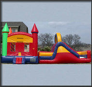 Rainbow Castle and Slide Combo