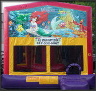 The Little Mermaid Obstacle Combo