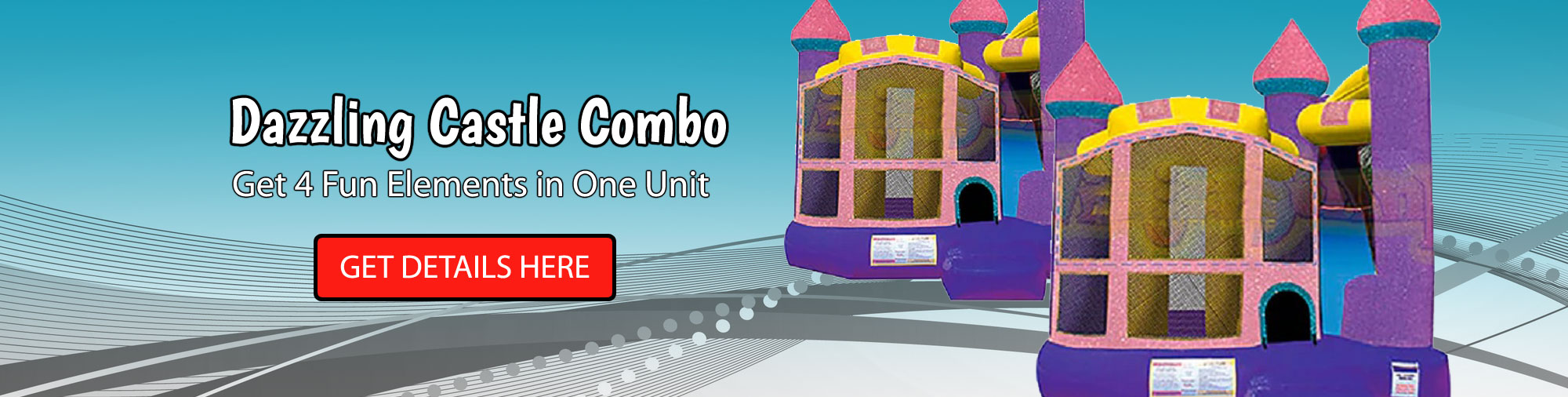 42ft Blue Crush Water Slide