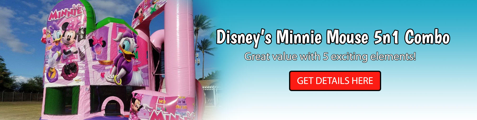 Minnie Mouse Combo Bouncer