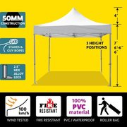 10x10 Commercial Vinyl Top Canopy