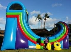 21ft lil' Shaka water slide